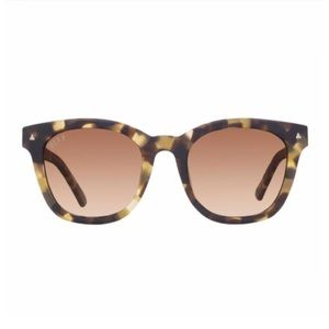 🎄🎄🎄 DIFF Ryder Sunglasses in Matte-moss Havana